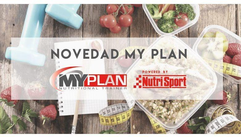 MY PLAN Nutritional Trainer by Nutrisport