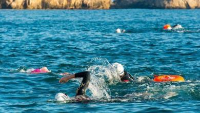 Photo of Do you want to go on a team trip? Swim 20 kilometers in the Maresme