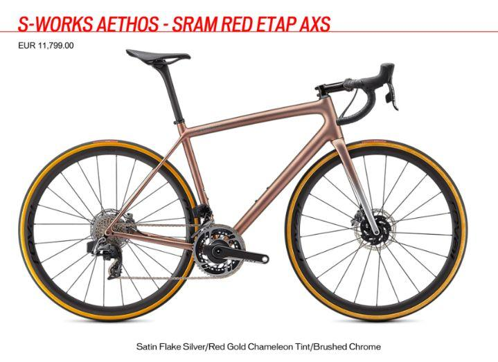 S-Works Aethos Founder's Edition price