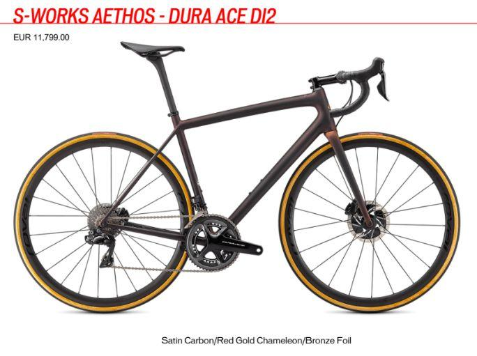 S-Works Aethos Dura Ace Di2 price