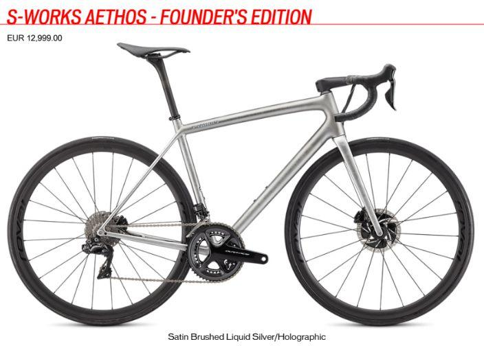 S-Works Aethos Red eTap AXS Price - € 11.799