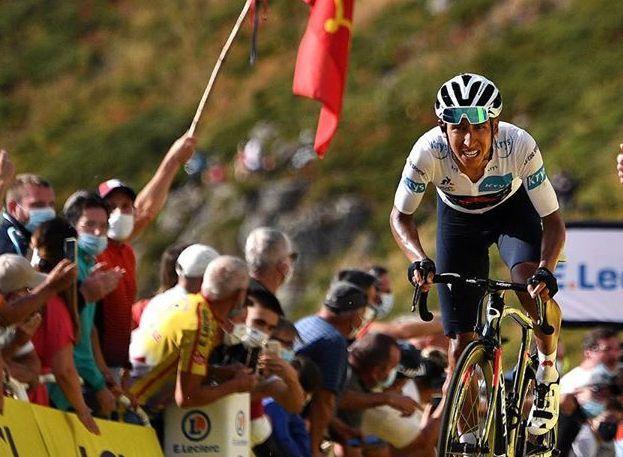 Egan Bernal in the Tour de France