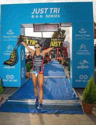 The triathlon returns to Altafulla with the Just Tri Series