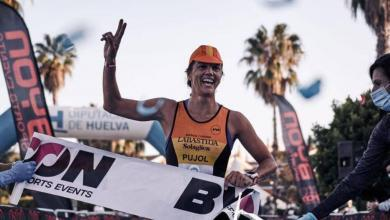 Photo of María Pujol and Mikel Ugarte win the MD Islantilla Triathlon