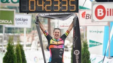 Photo of Knowing Laura Gómez., 2020 MD Triathlon Spanish Champion