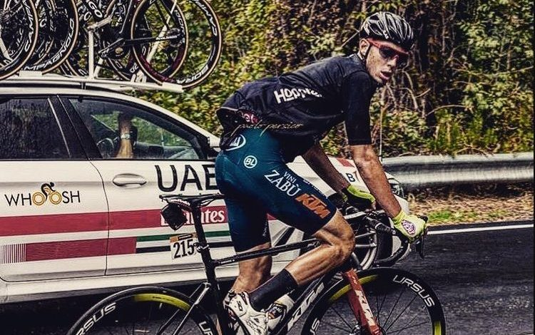 Matteo Spreafico en el Giro de Italia