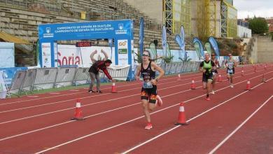 Sector carrera Campeonato España duatlón 2020