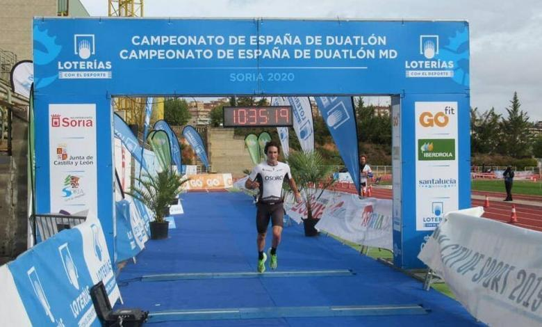 Pello Osoro Meister von Spanien Duathlon MD 2020