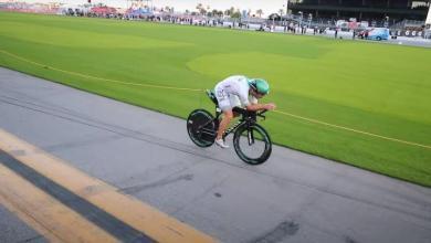 Lionel Sanders en Challenge Daytona