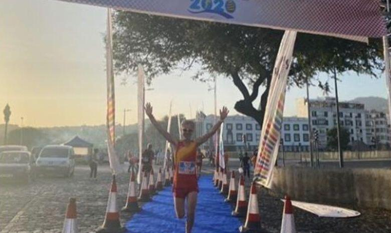 Martín Fiz Meister Europa Halbmarathon M55 2020