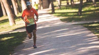 Un runner corriendo en Valencia