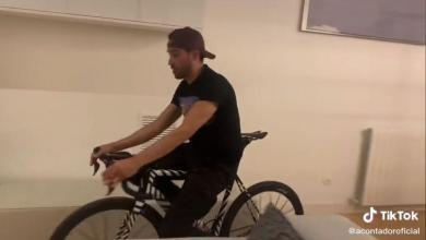 captura del vídeo de Alberto Contador