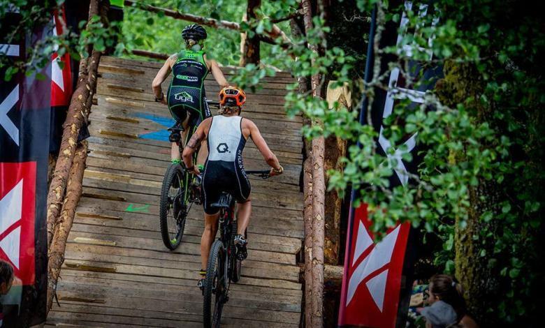 Segmento ciclista de un XTERRA