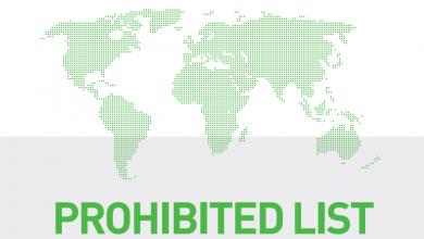 Actualizada la lista de sustancias prohibidas WADA 2021