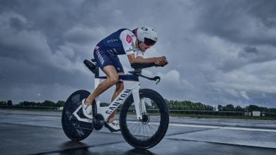 Jan frodeno en la nueva Canyon speedmax disc 2021