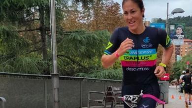 Judith Corachán en el Bilbao Triathlon
