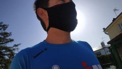 Review mascarilla deportiva de Lurbel Faz Sport
