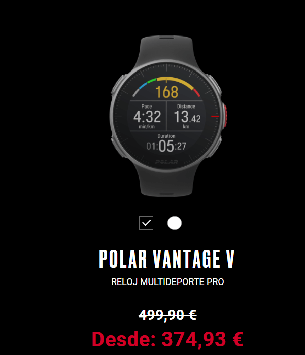 POLAR VANTAGE V - 20% DTO