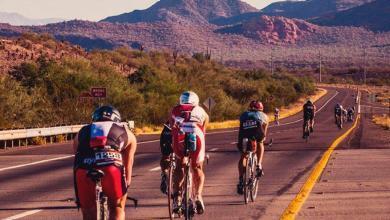 Segmento ciclista del IRONMAN Arizona