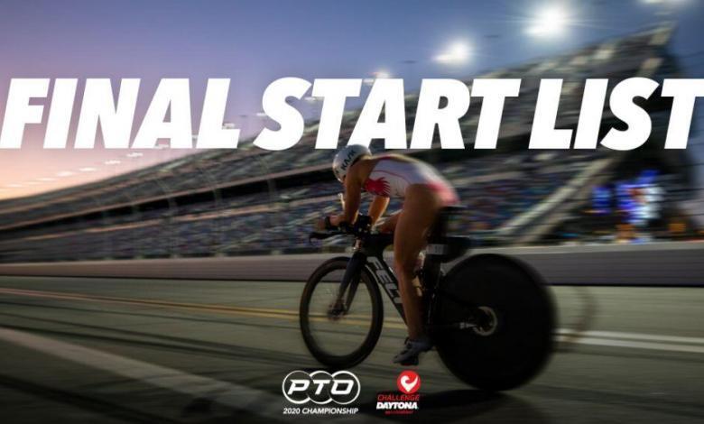 listado de triatletas del Campeonato PTO – Challenge Daytona