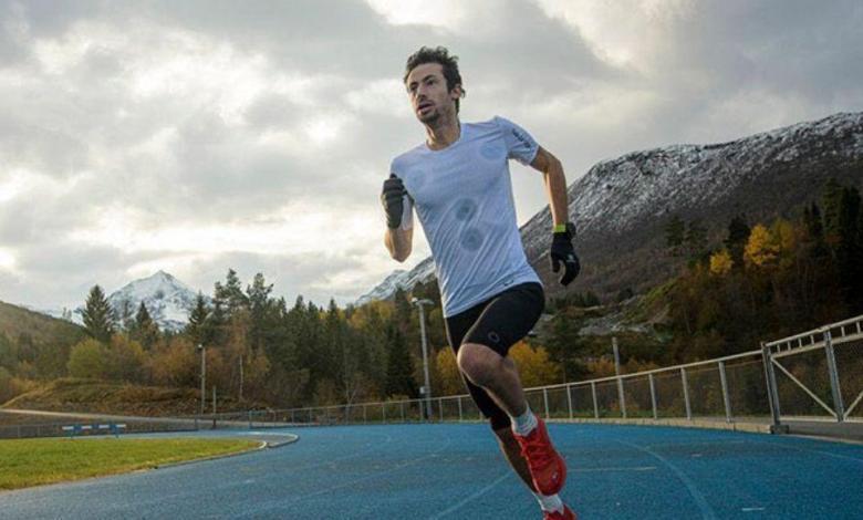 Kilian Jornet trainiert auf dem richtigen Weg für seine Herausforderung
