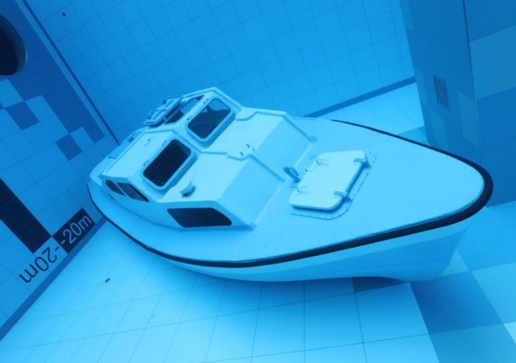Esta es la piscina más profunda del mundo