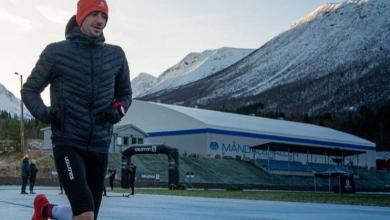 Kilian Jornet en el reto de 24 horas corriendo