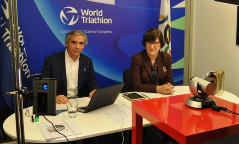 Marisol Casado reelegida presidemta en el congreso del World Triathlon 2020