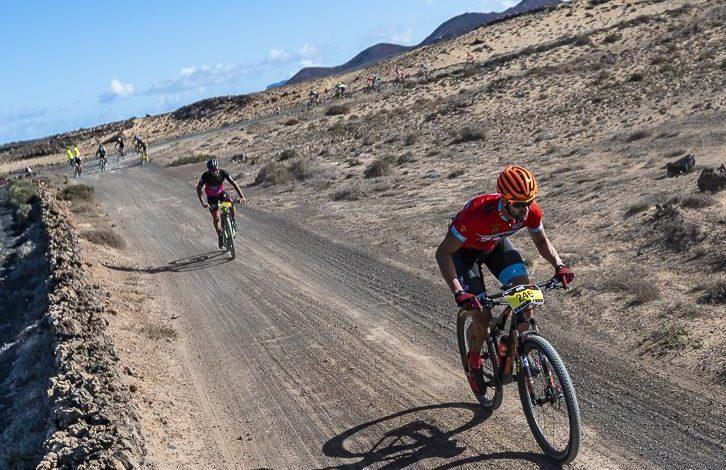 Bild des Mountainbike-Rennens Lanzarote