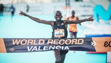 Kibiwott Kandie bate el récord del mundo en medio maratón en Valencia