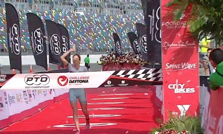 Paula Findlay ganando Challenge Daytona