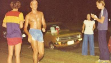 Dave Orlowski corriendo en Kona en 1978