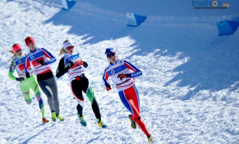 Segmento de carrera del Triatlón de Invierno de Cheile Gradistei