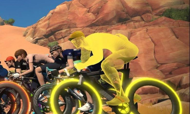 Skin ciclista virtual