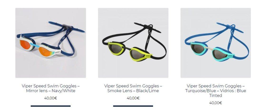 Ofertas gafas natación Zone3