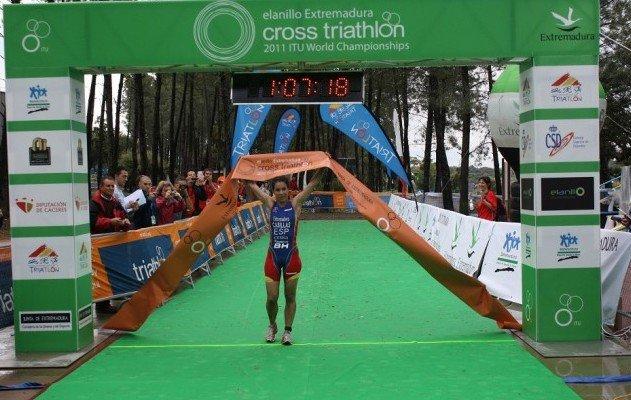 eta del Campeonato del Mundo Triatlón Cross en el anillo