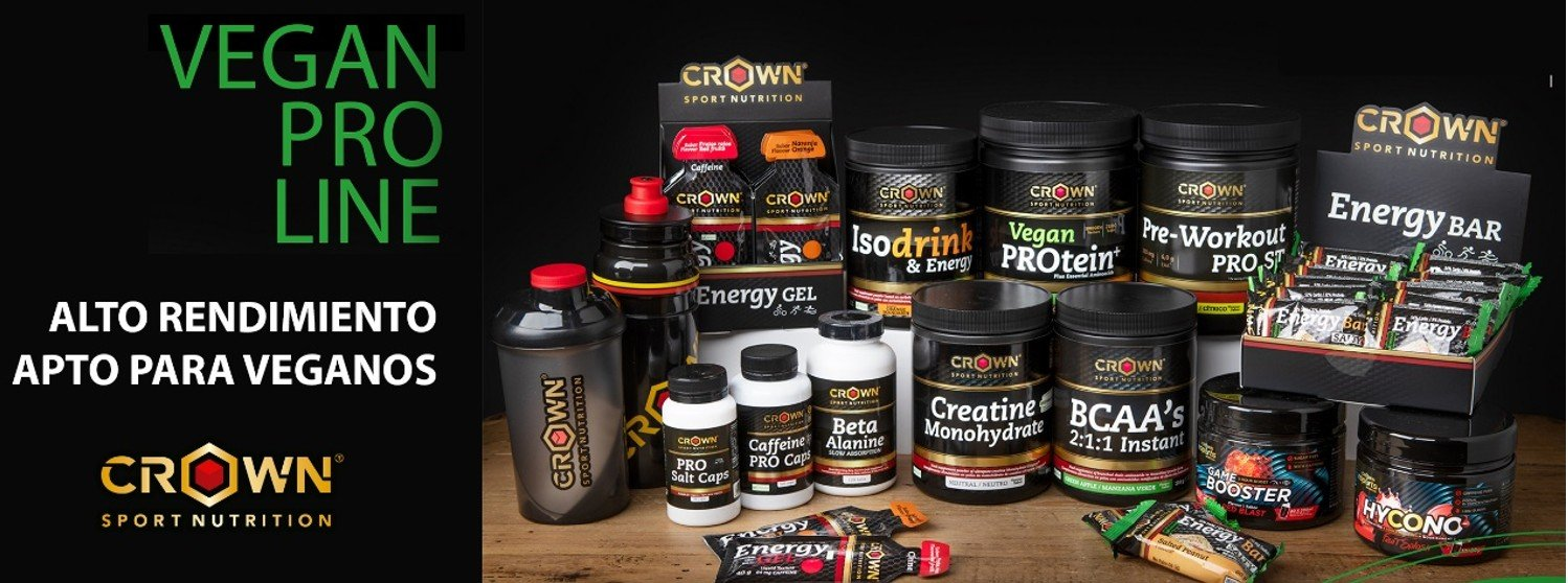 Vegan PRO Line de Crown Sport Nutrition