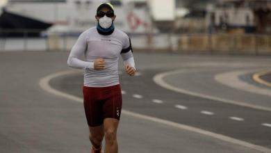 Galicia obligan a correr en solitario y con mascarilla