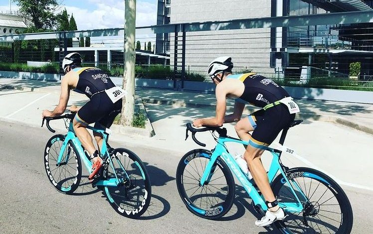 Segmento ciclista en una prueba del circuito Dutricup