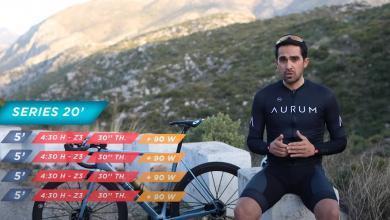 Alberto Contador hablando sobre la preparación de un deportista