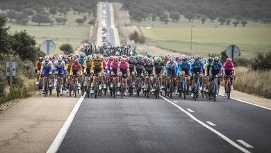 Una etapa de la Vuelta España 2020