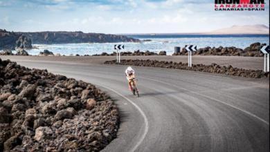 Segmento ciclista del IROMAN Lanzarote