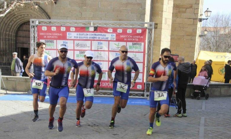 An outbreak in Moraleja forces the postponement of the Extremadura Time Trial Duathlon Championship by teams