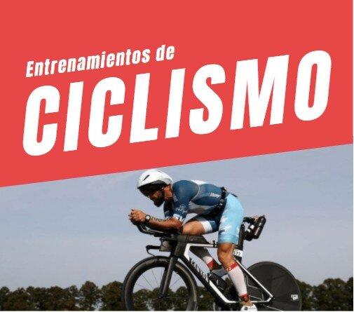 Entrenamientos de ciclismo