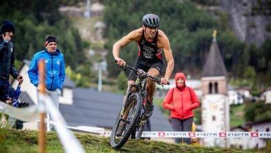 Segmento ciclista del Xterra Italia