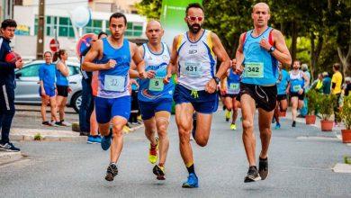 Atletas en una maratón