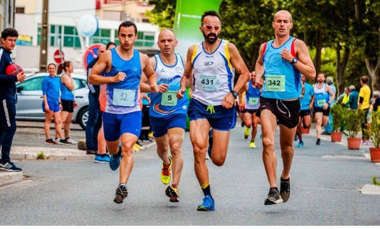 Athletes in a marathon