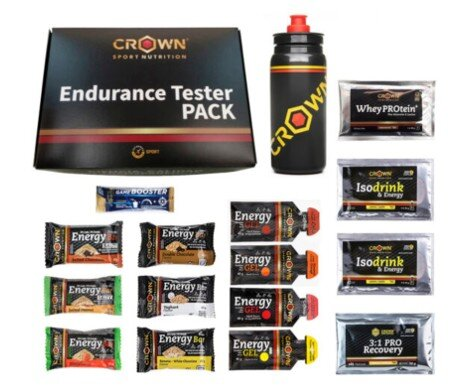 Pack Tester Crown Sport Nutrition