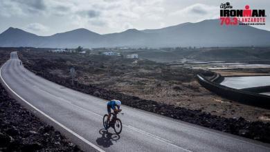 Segmento ciclista del Club La Santa IRONMAN 70.3 Lanzarote