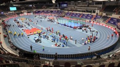 pista del Campeonato de Europa de Atletismo en Torún